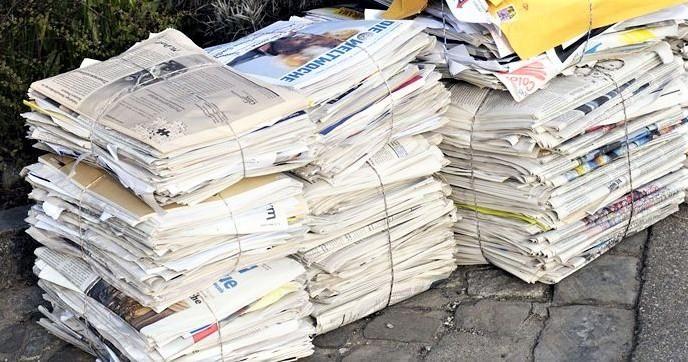 Zbiranje odpadnega papirja in odsluženih tonerjev / kartuš